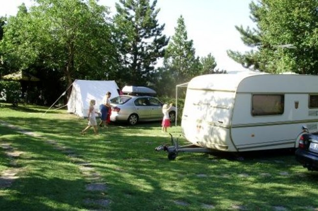Panoráma Camping, Pannonhalma
