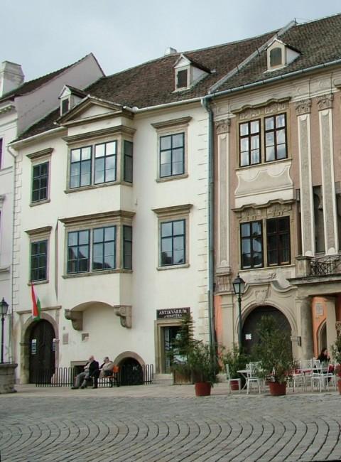 Soproni Múzeum Fabricius-ház, Régészeti kiállítás, Sopron