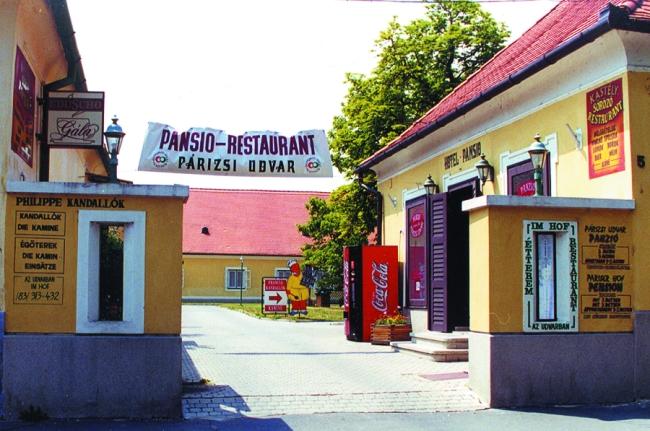 Párizsi Udvar Panzió Étterem, Keszthely