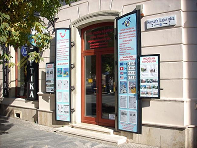 Hatos Utazási és Ingatlanközvetítő Iroda<br/>TUI Utazási Központ, Keszthely