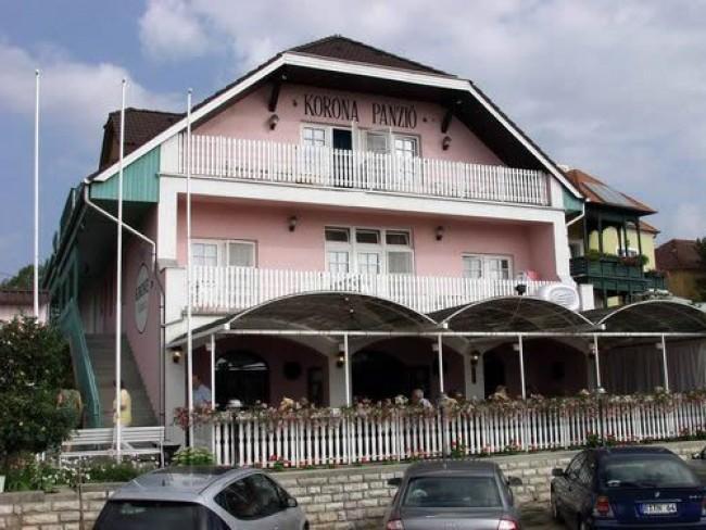 Korona Panzió, Étterem, Balatonfüred