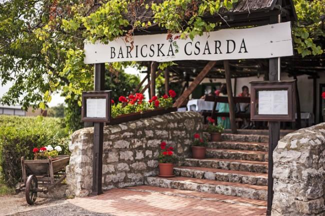 Baricska Csárda, Balatonfüred