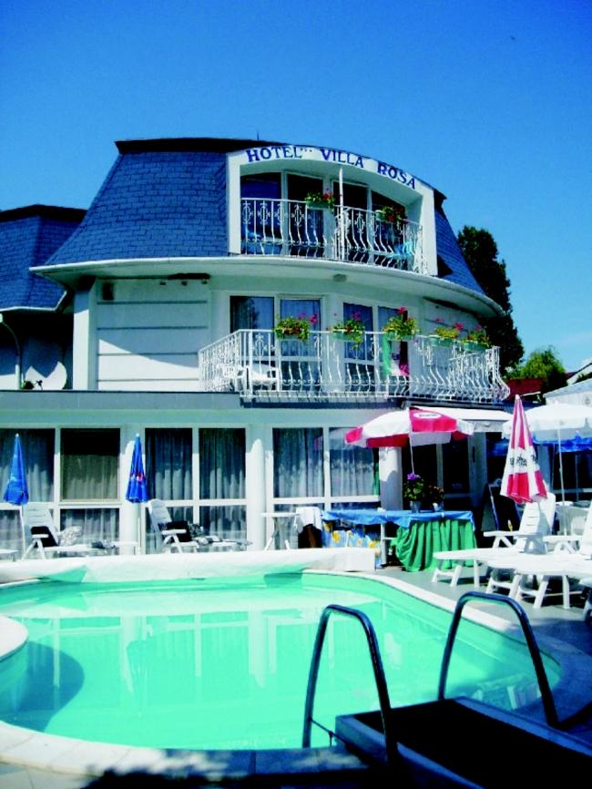 Villa Rosa Hotel, Zamárdi