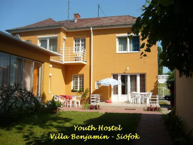 Youth Hostel Villa Benjamin-Siófok, Siófok