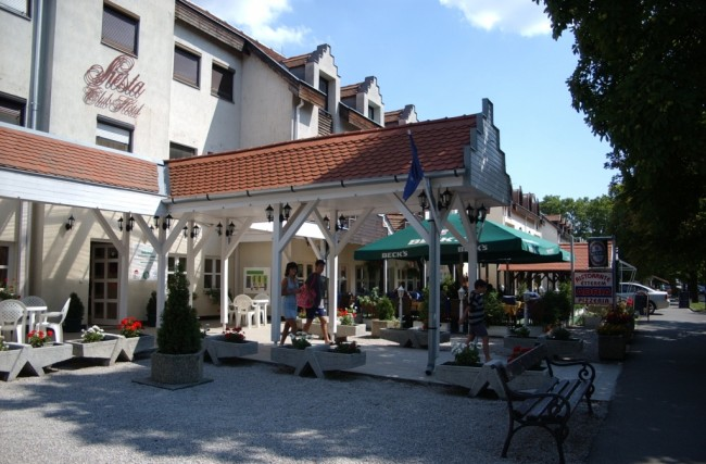 Siesta Club Hotel, Harkány