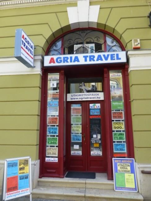 Agria Travel Utazásszervező Kft., Eger
