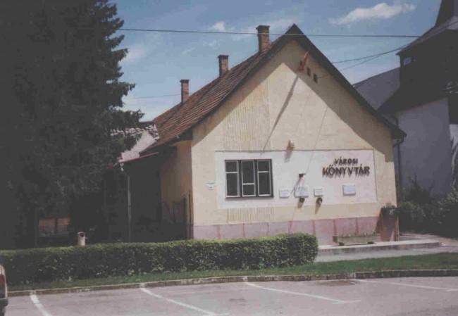 Városi Könyvtár, Edelény