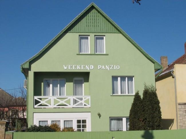 Weekend Panzió, Szerencs