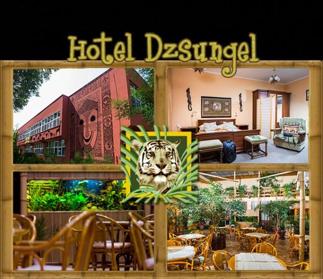 Hotel Dzsungel, Nyíregyháza (Sóstófürdő)