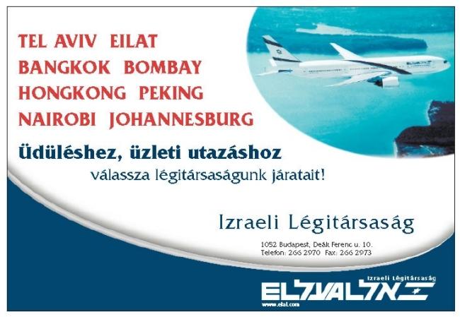 El Al Israel Airlines, BUDAPEST (V. kerület)