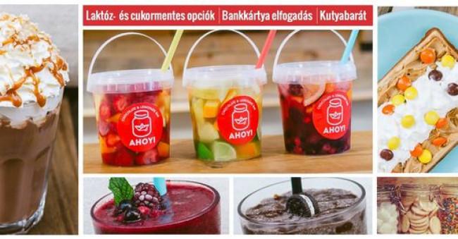 Ahoy - Chocolate & Lemonade Bar, BUDAPEST (V. kerület)
