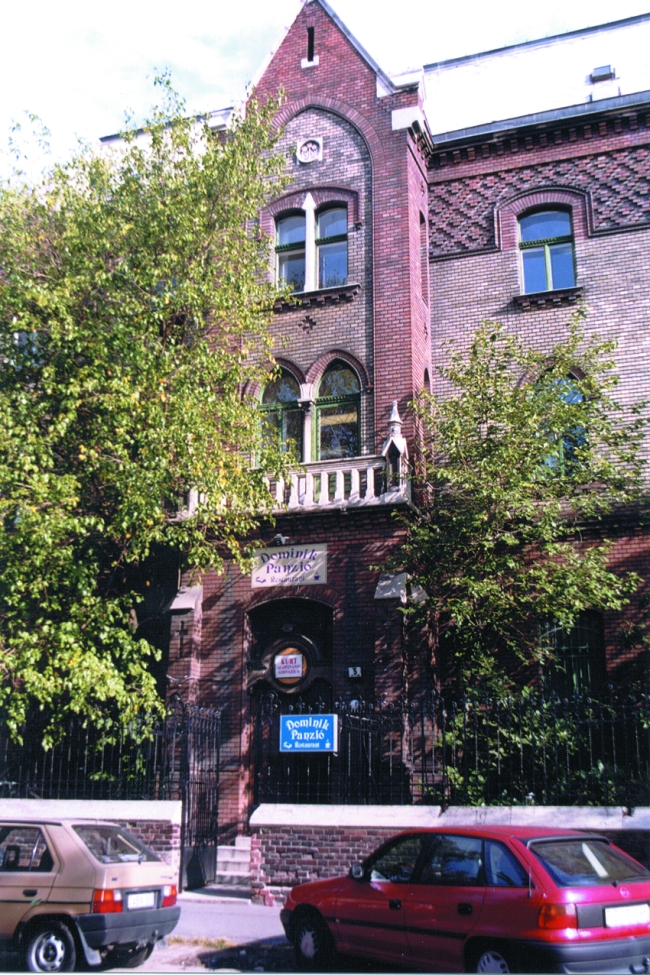 Dominik Panzió, BUDAPEST (XIV. kerület)