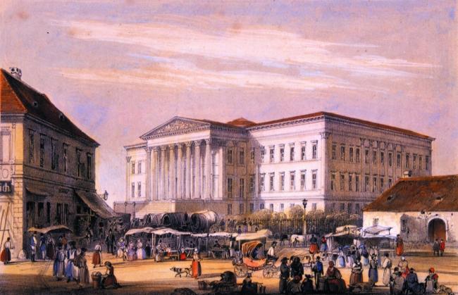 Magyar Nemzeti Múzeum, BUDAPEST (VIII. kerület)