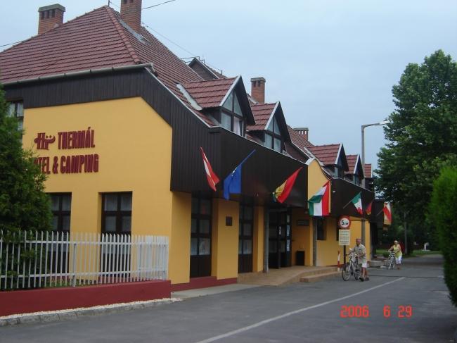 Thermál Hotel és Camping, Komárom