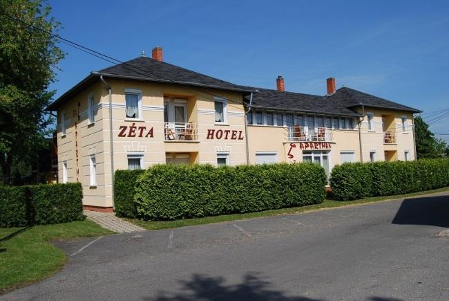 Zéta Hotel Étterem, Lenti