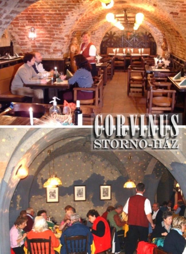 GENERÁLIS Étterem - CORVINUS Pizzéria - Borpince - Vinotéka, Sopron