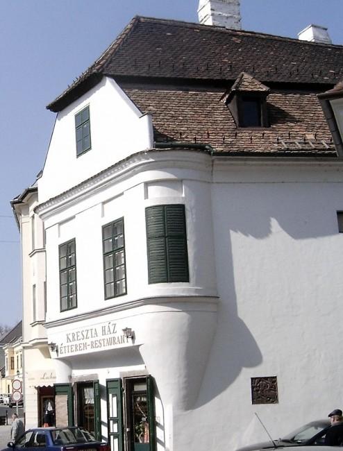 Kreszta-ház, Győr