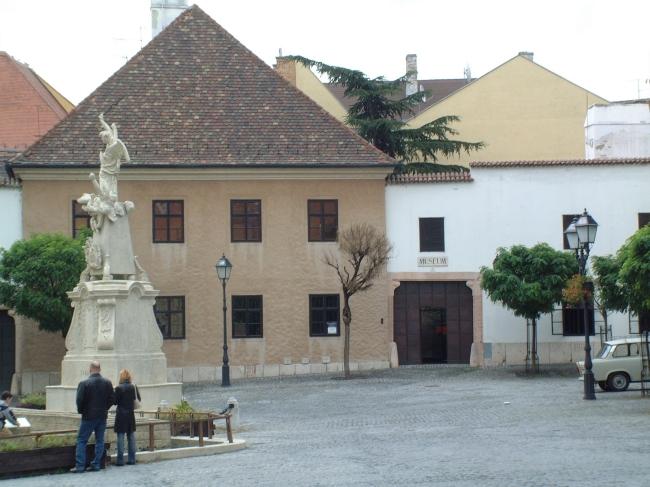 Püspöki udvarbíróház, Győr
