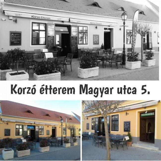 Korzó Étterem, Mosonmagyaróvár