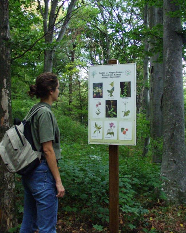 Boroszlán Tanösvény <br/>(Balaton-felvidéki Nemzeti Park Igazgatóság), Bakonybél