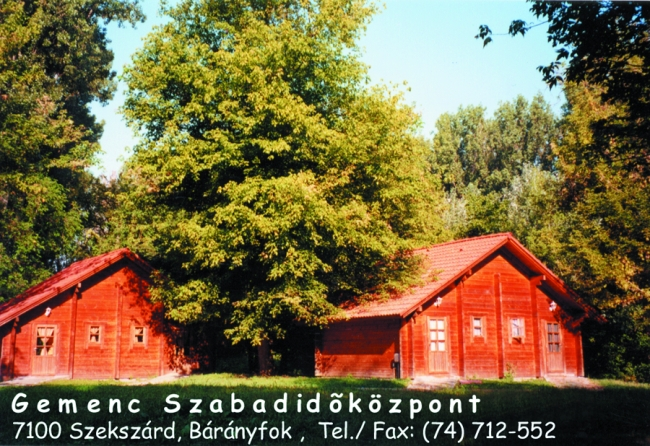 Gemenc Kiránduló Központ                                                                                                                              , Szekszárd