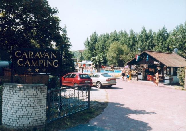 Caraván Camping***, Gyenesdiás