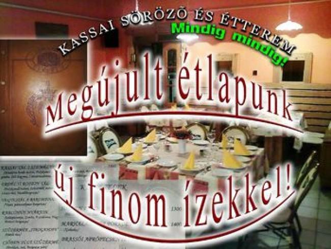 Kassai Söröző és Étterem, Szolnok