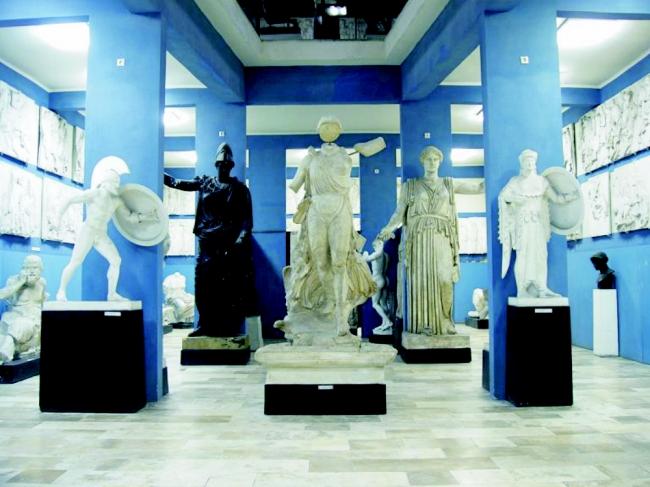 Kuny Domokos Megyei Múzeum - Görög-Római Szobormásolatok Kiállítása, Tata