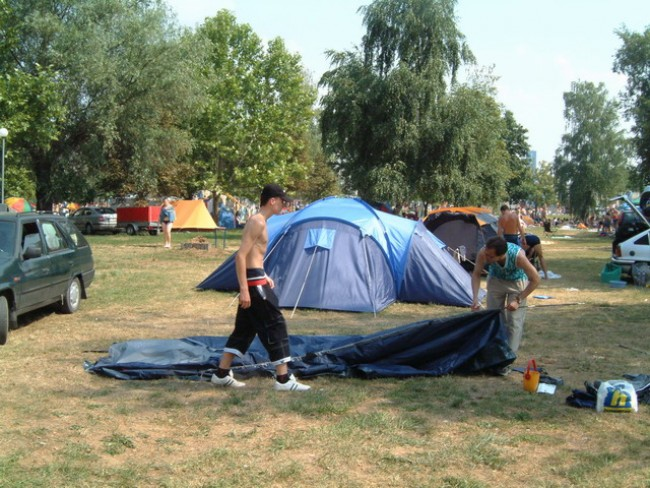 Várfürdő, kemping, Kisvárda