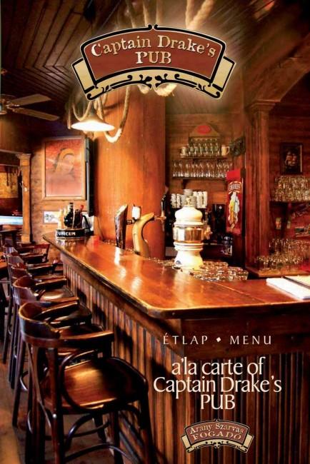 Aranyszarvas Fogadó *** és Captain Drake's Pub, Győr