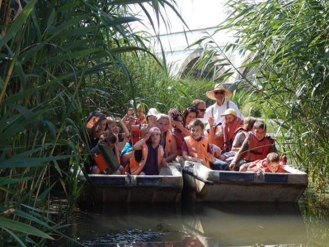 Csónakázás a Hortobágy folyón, Hortobágy
