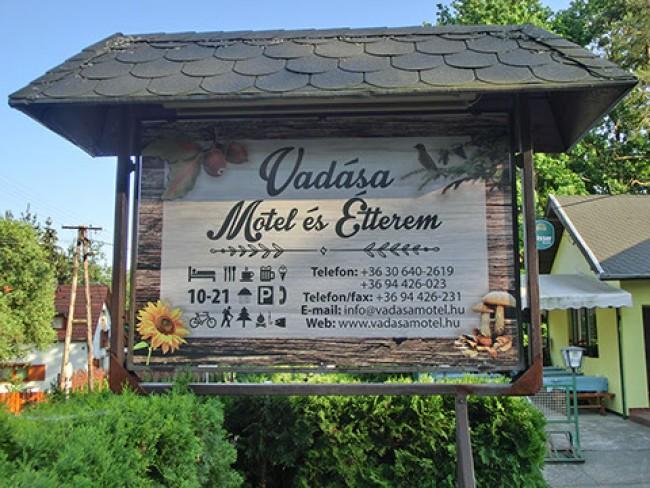 Vadása Motel Üdülőház és Étterem, Hegyhátszentjakab