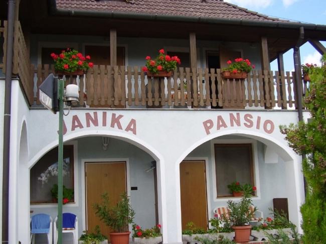 Janika Panzió és Étterem, Vonyarcvashegy