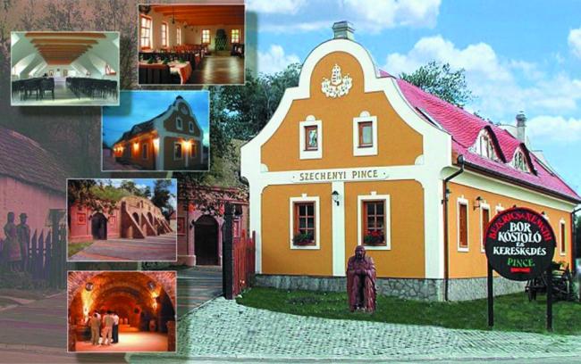 Széchenyi Pince Bor- és Rendezvényház, Szentgyörgyvár