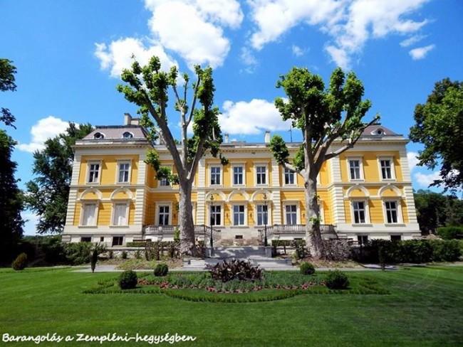 Károlyi-kastély - Füzérradvány, Füzérradvány