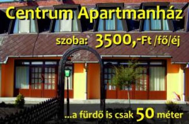 Centrum Apartmanház Zalakaros, Zalakaros