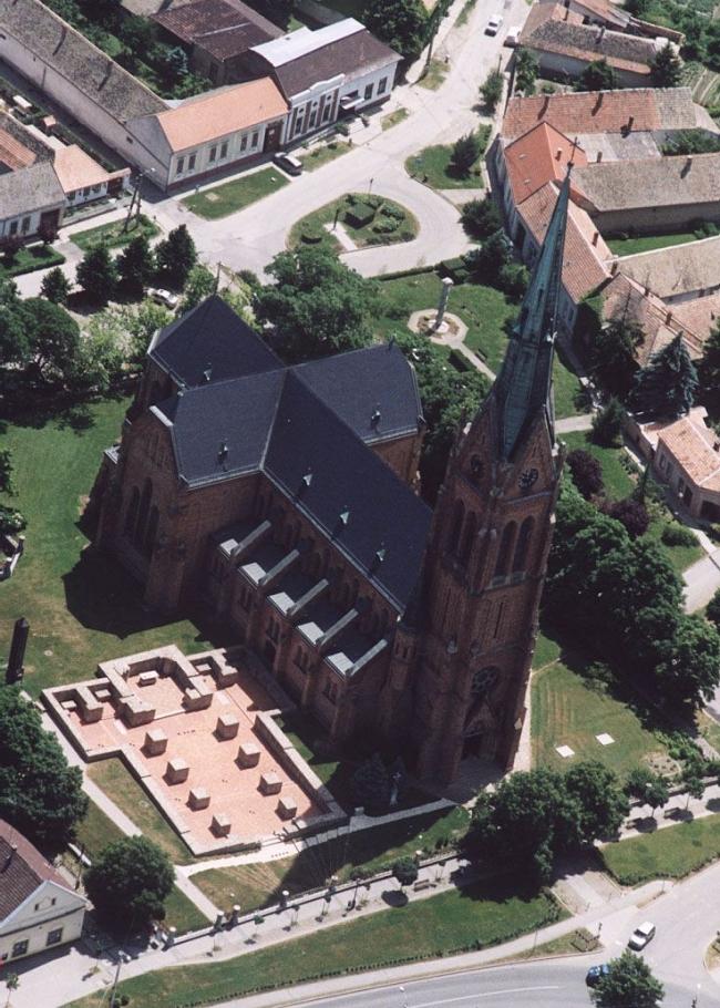 Ciszterci Romkert és Római Katolikus Templom, Bátaszék