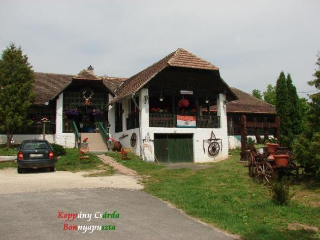 Koppány Csárda, Bonnya (Bonnyapuszta)