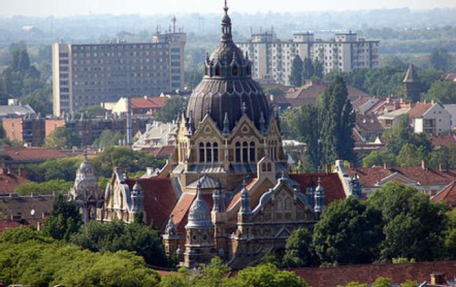 Szegedi Új zsinagóga, Szeged