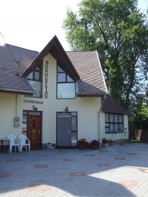 Borostyán Vendégház, Bogács