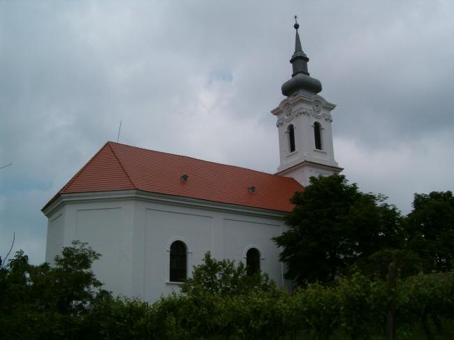 Református templom, Kőröshegy