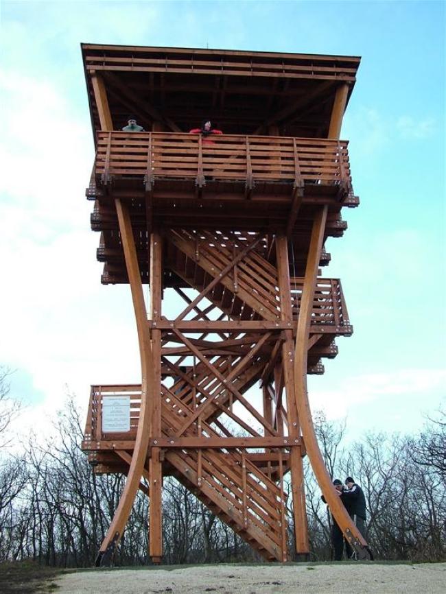 Csatár-hegyi kilátó - Veszprém, Veszprém