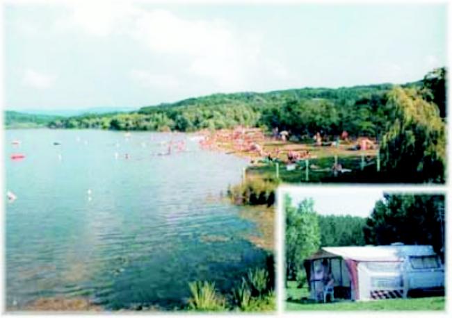 Bakony-Ér Strand, Horgásztó és Kemping                                                                                                                , Nagytevel