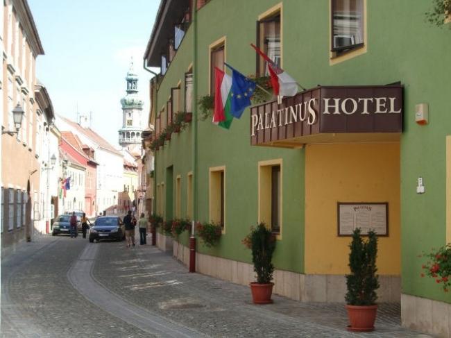Palatinus Szálló, Sopron