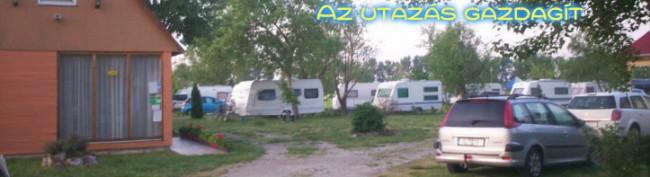 Tópart Camping, Győr