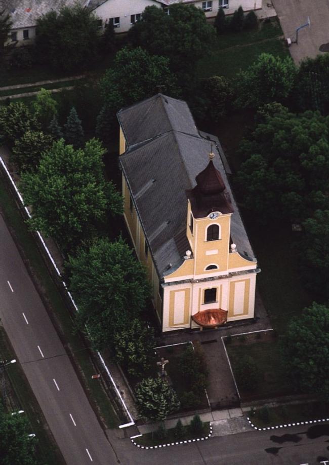 Templom (újjáépített, barokk jellegű)                                                                                                                 , Detk