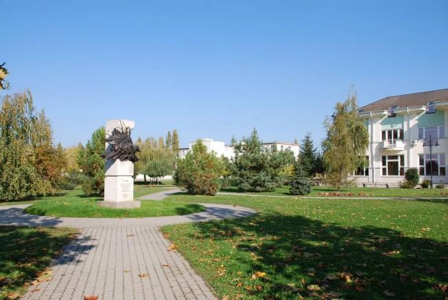 Szent István tér, Városközpont, Martfű
