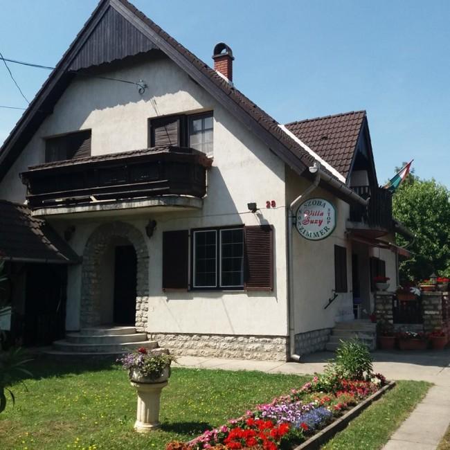 Villa Suzy, Zamárdi