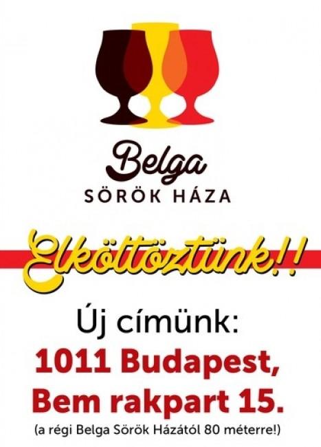 Belga Sörök Háza, BUDAPEST (I. kerület)