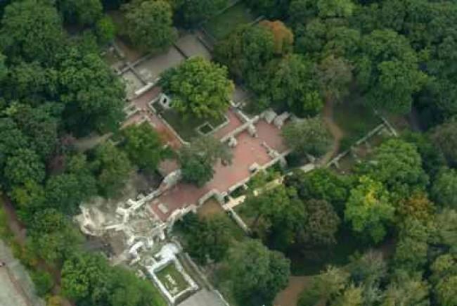 Szent Margit sírja, Domonkos kolostor romjai, BUDAPEST (XIII. kerület)